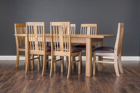 Manhattan Dining Table With 6 Chairs
