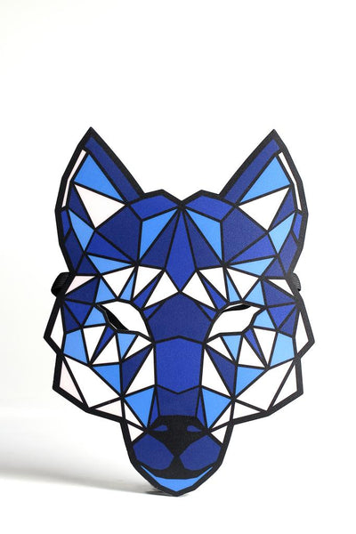 Wolf Sound Mask - Sound activate LED mask to react to sound around you