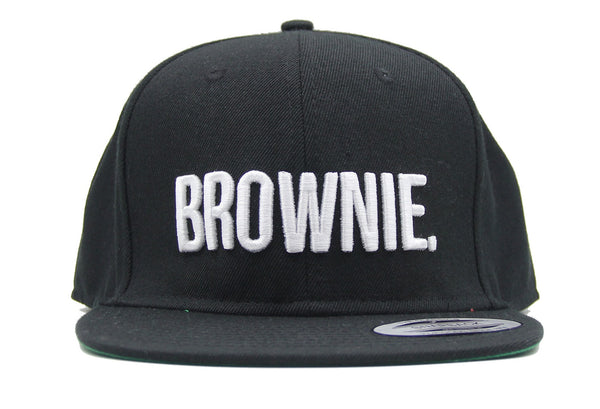 Brownie Baseball Cap Snapback Fashion Embroidered Snapback Cap Trending Hat