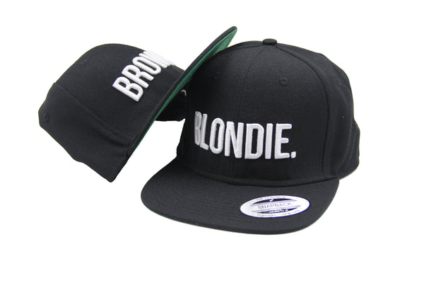 Blondie and Brownie Baseball Cap Snapback Fashion Embroidered Snapback Caps Trending Hats