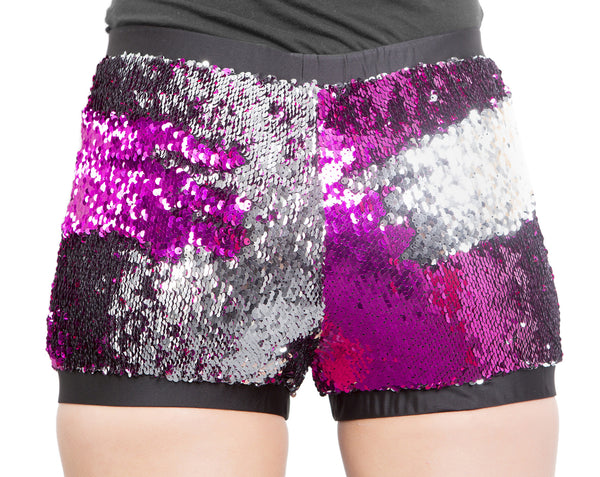 Colour Changing High Waisted Roller Derby Shorts