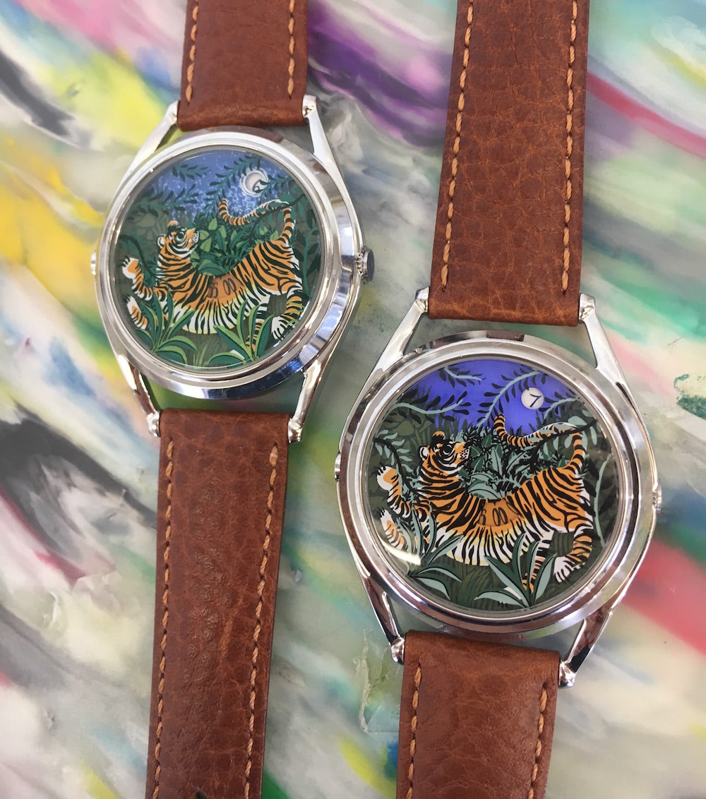 Sample Promise of Happiness watches using a night scene colour palatte