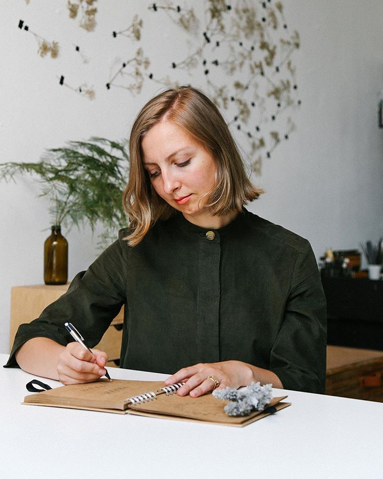 Dovile Bertulyte, watch designer and jewellery maker behind the scenes