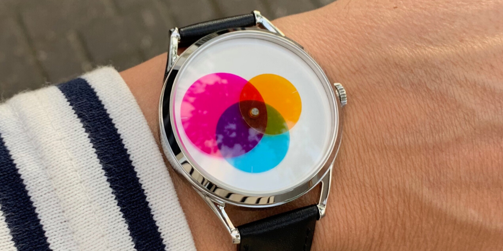 New Colour Venn watch