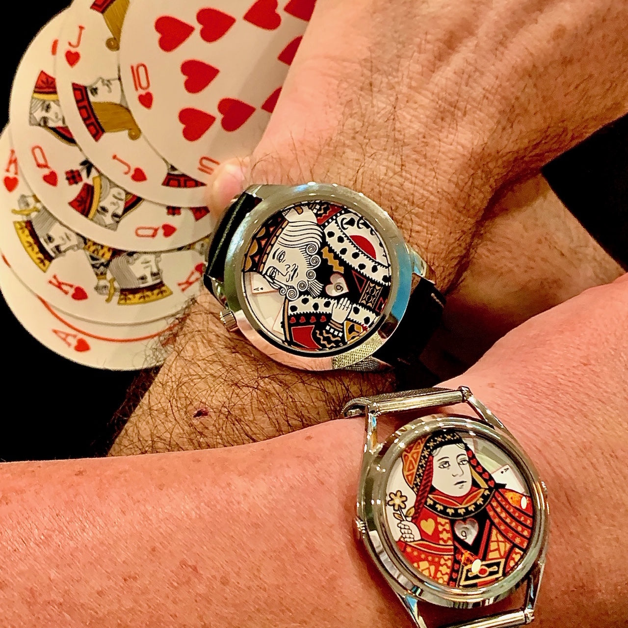 The King XL and Queen watches