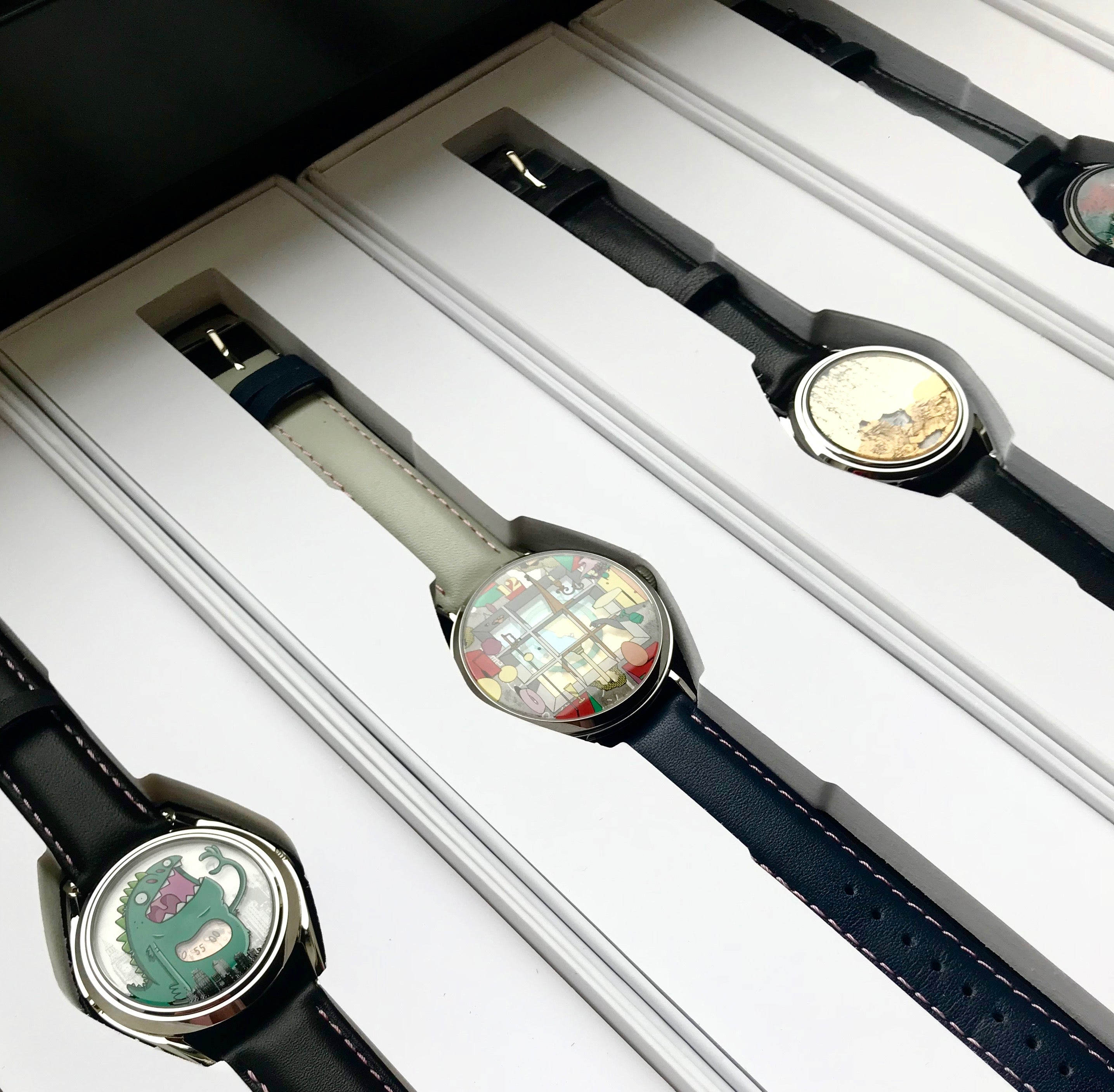 Jessar's collection of limited edition watches