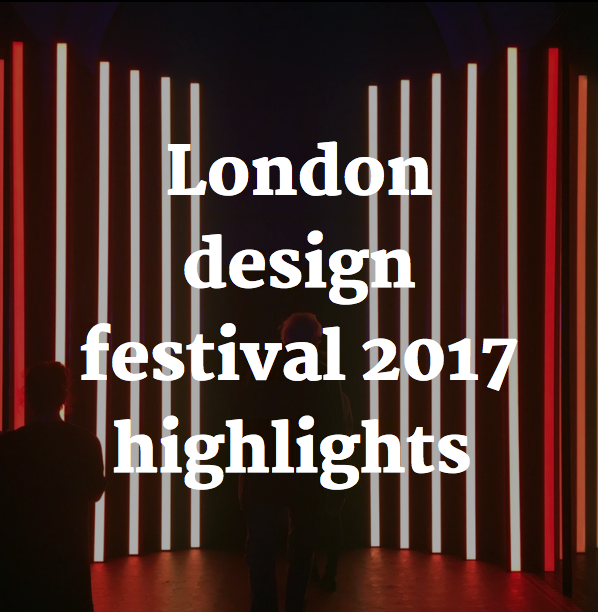 London design festival 2017 highlights