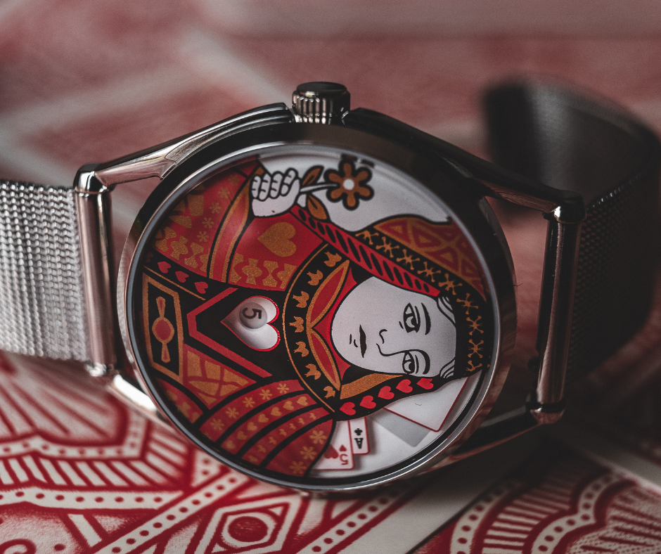 Queen watch, gift guide for her by Mr Jones Watches