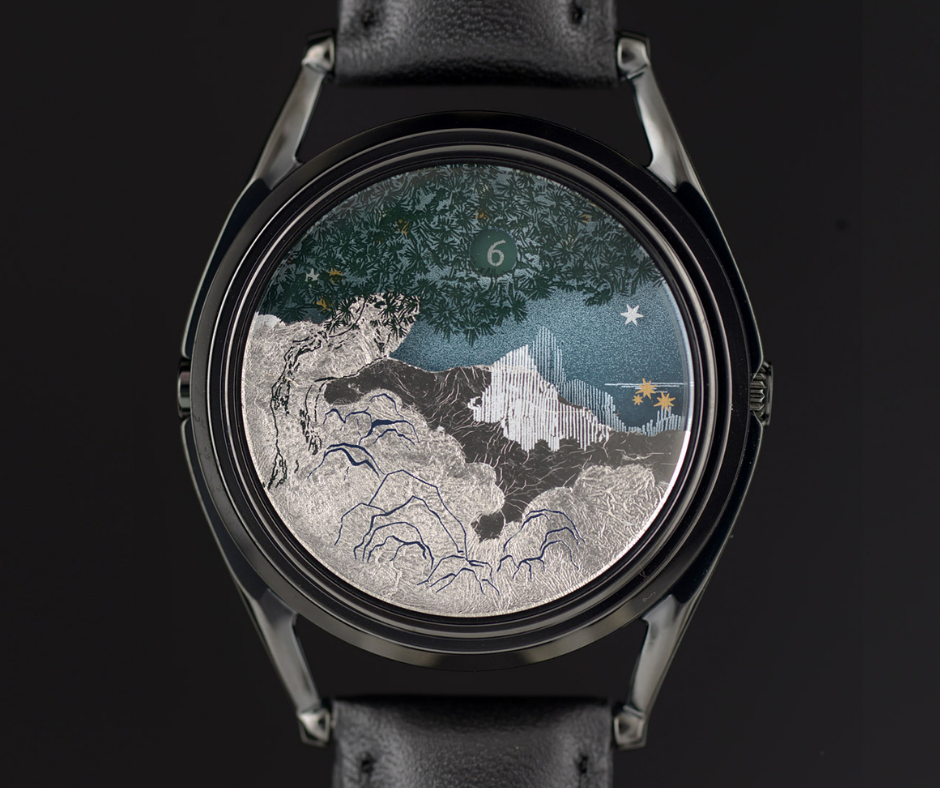 The Ascendent limited edition watch design by Marion Labbez
