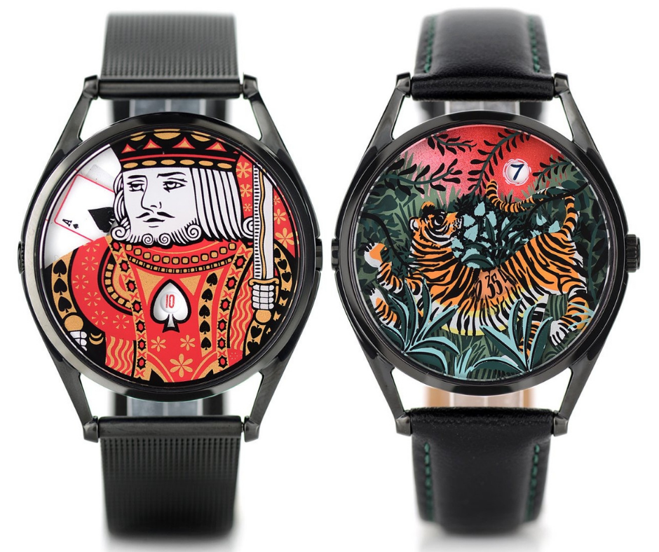 King of Spades and the Promise of Happiness by Mr Jones Watches