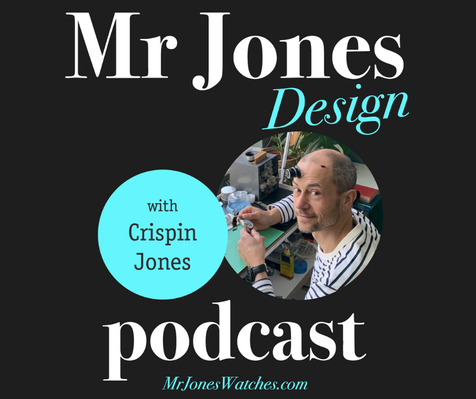 The Mr Jones Design podcast with Crispin Jones