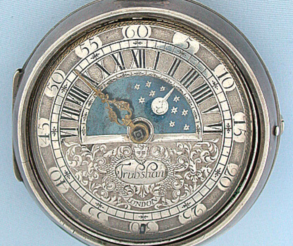 The Sun and Moon antique Watch john Trubshaw