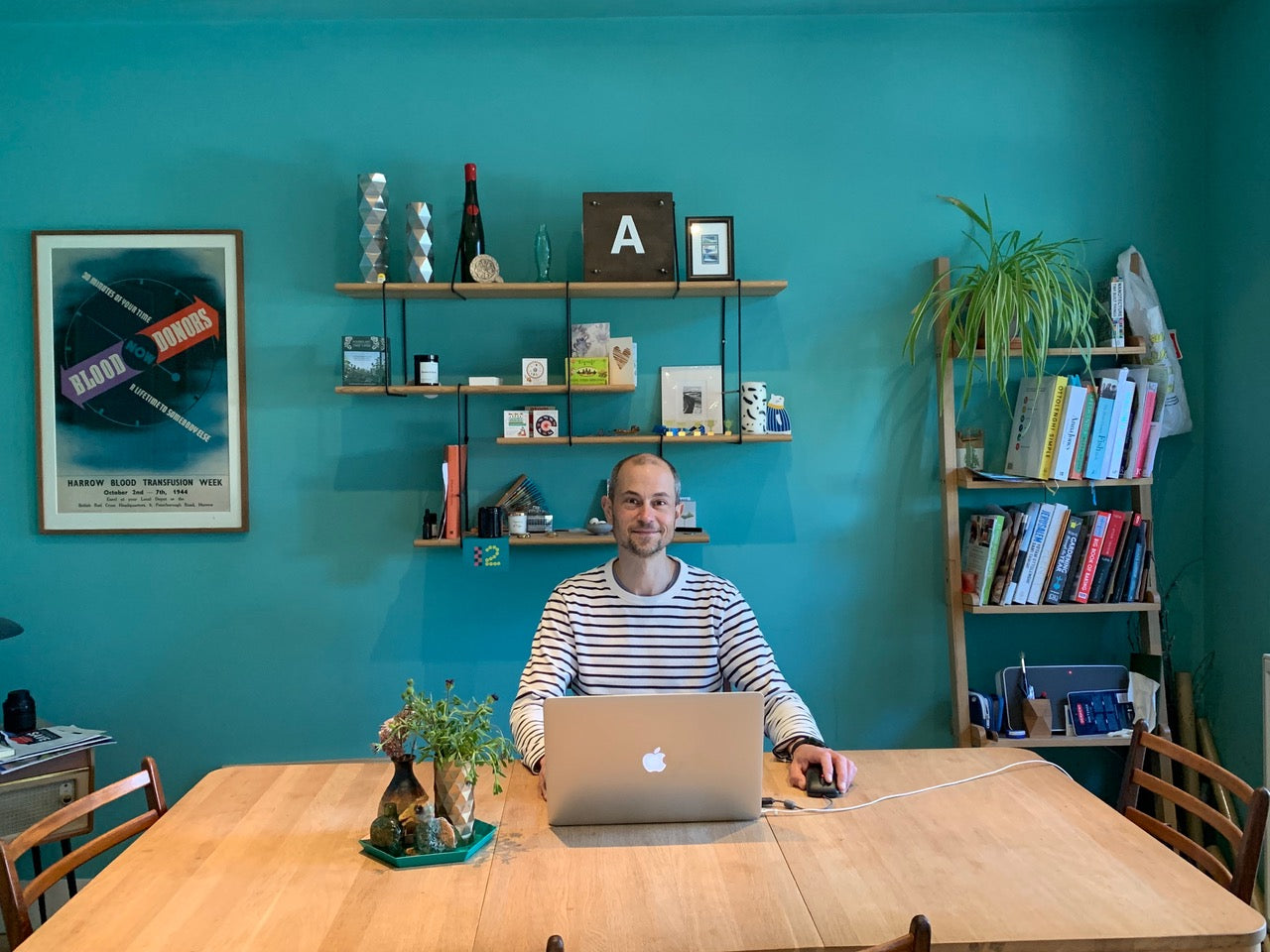 Crispin Jones: working from home