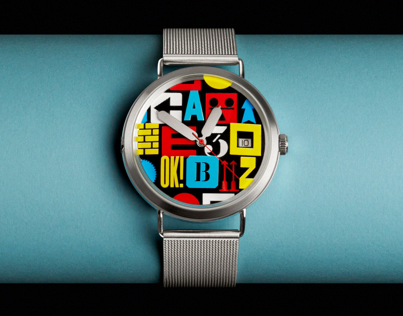 A-OK! watch by Anthony Burrill