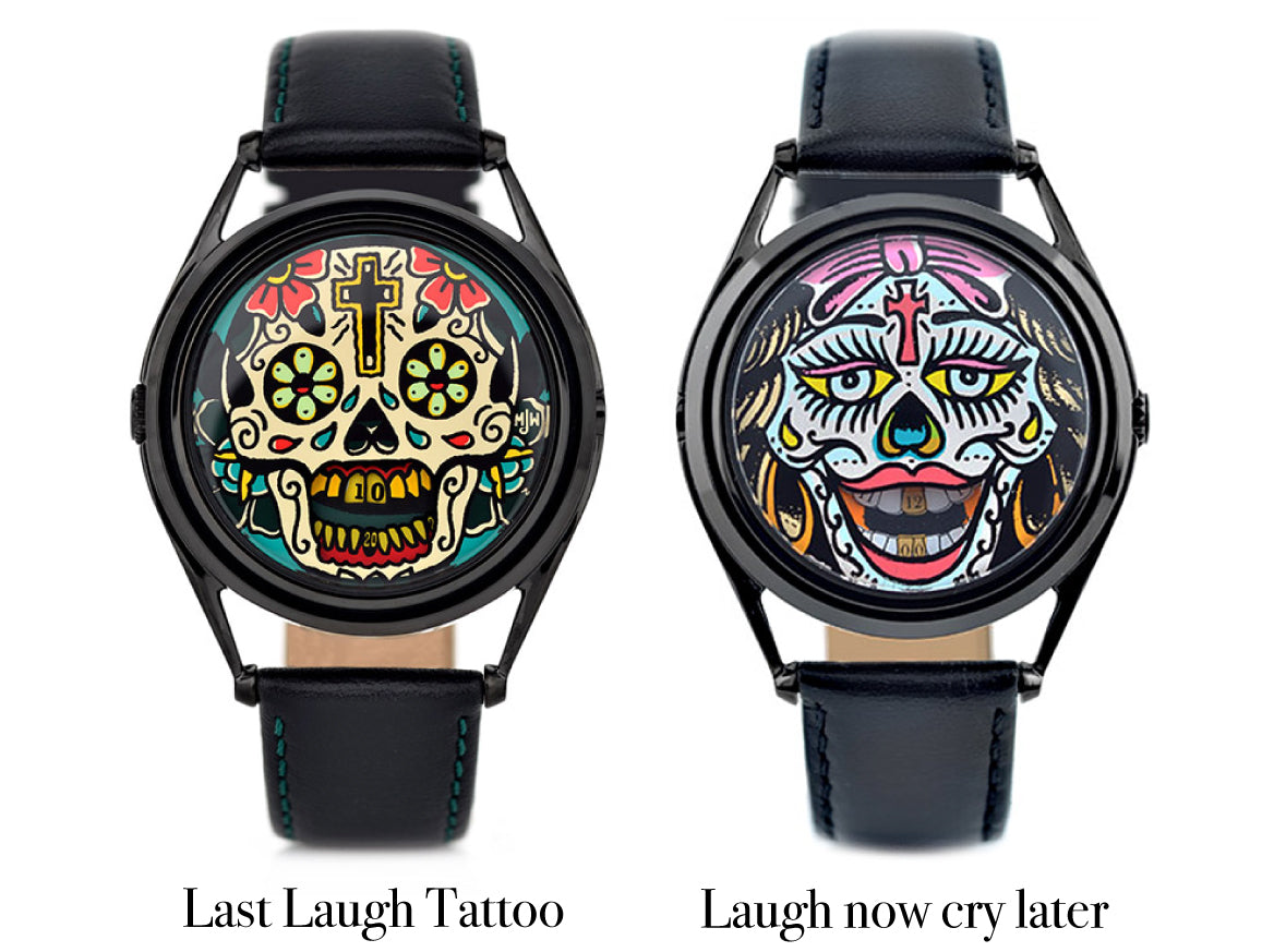 Adrian Willard's watch designs