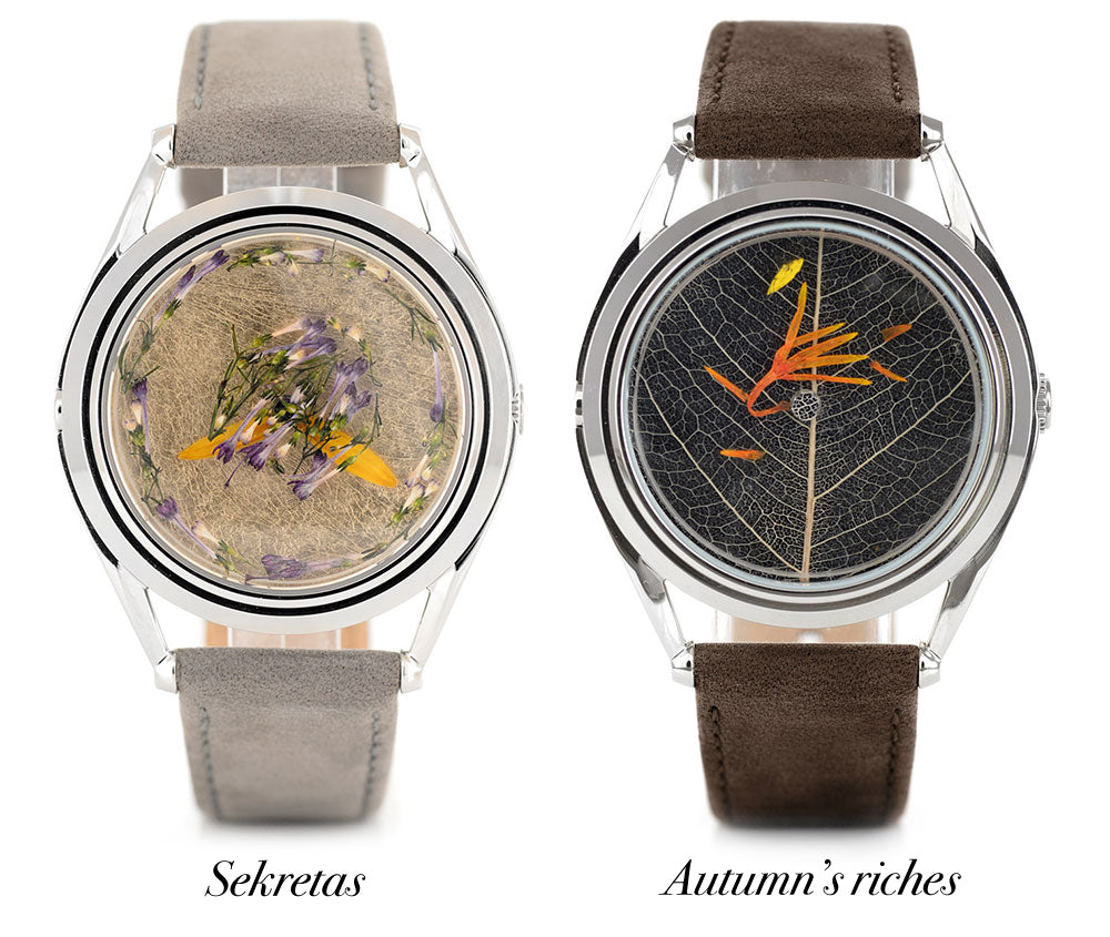 Dovile's watch designs