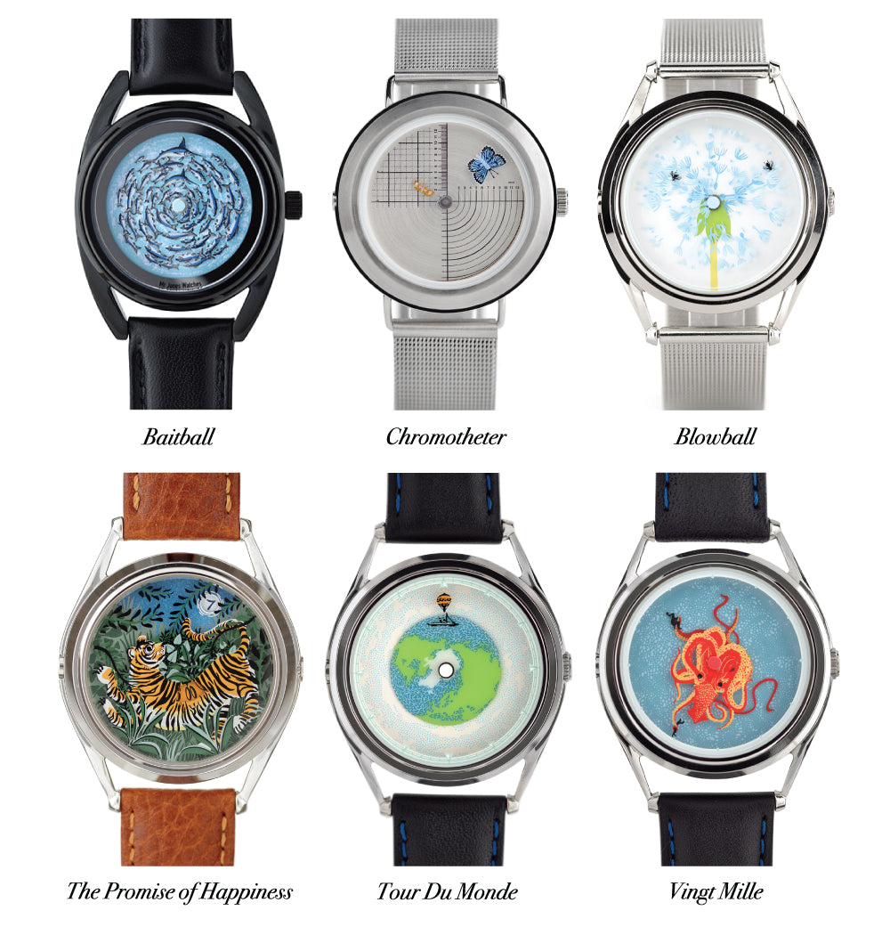 Fanny Shorter's watch designs