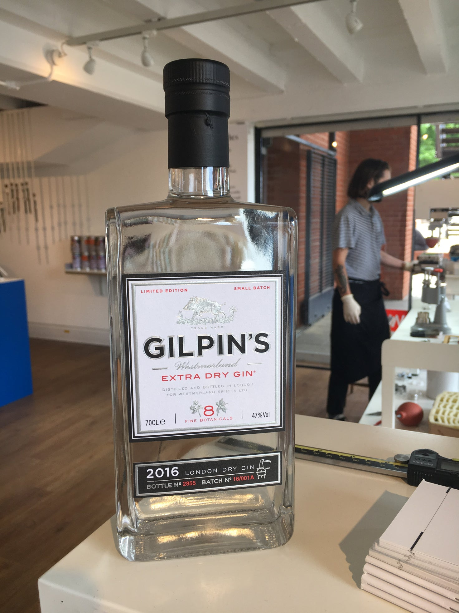 Gilpin's gin sponsored the event