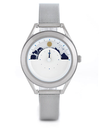 Ladies Sun and Moon watch