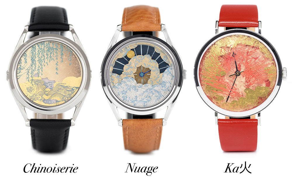 Watches designed by Marion Labbez