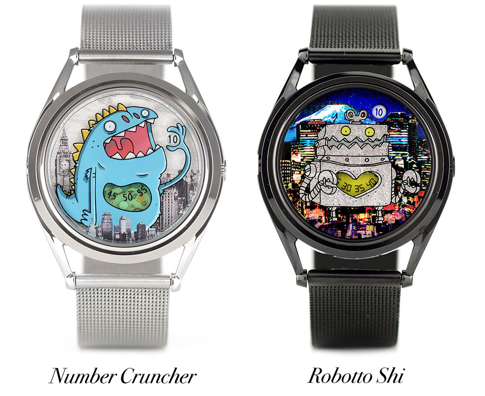Watches designed by Onorio D'Epiro