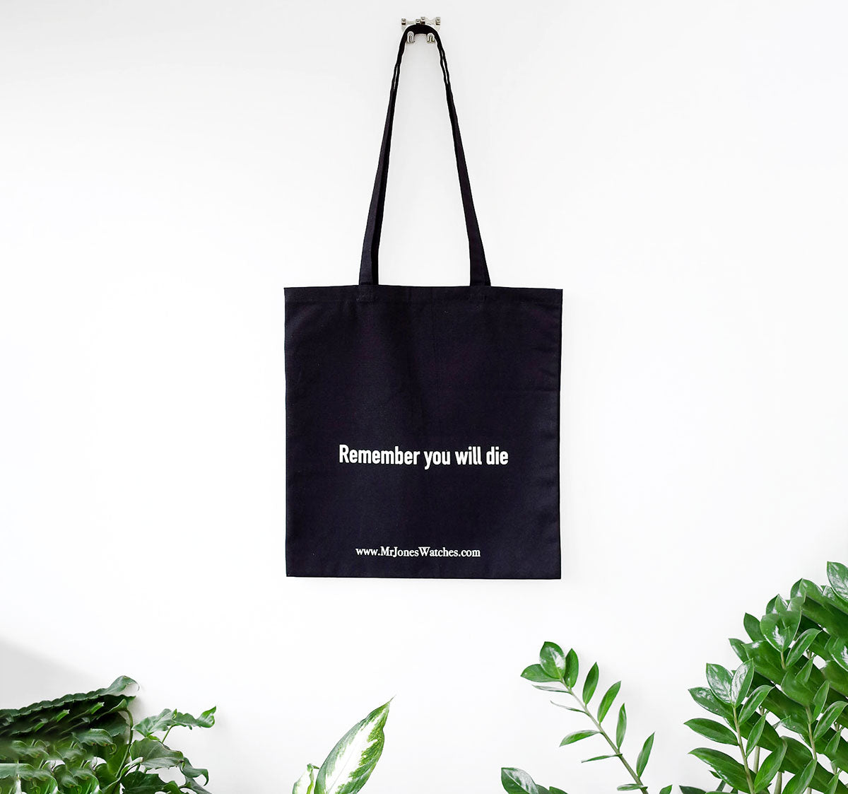 Remember you will die tote bag