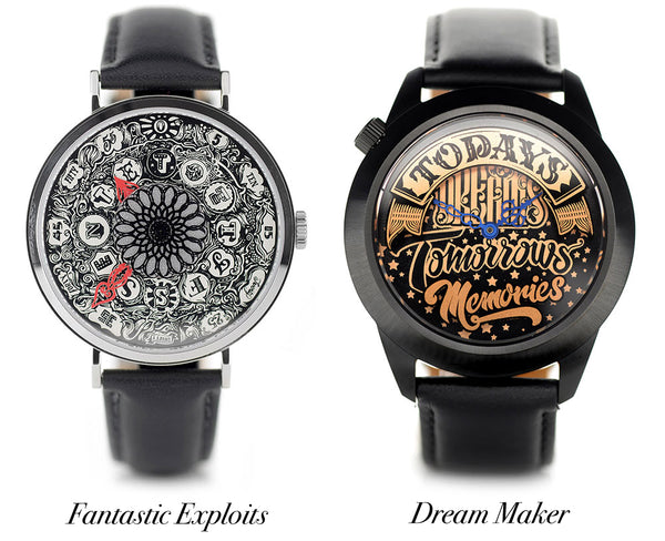 Watches designed by Vic Lee