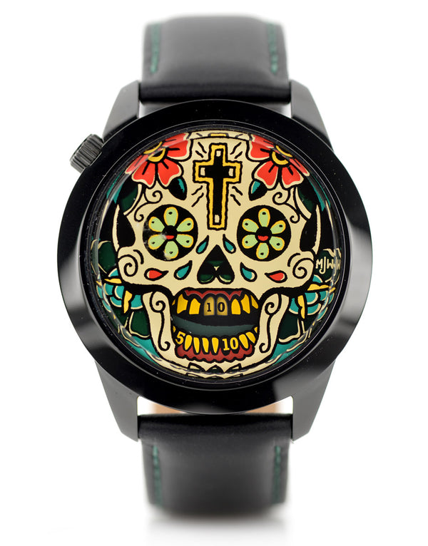Last Laugh Tattoo XL watch front view