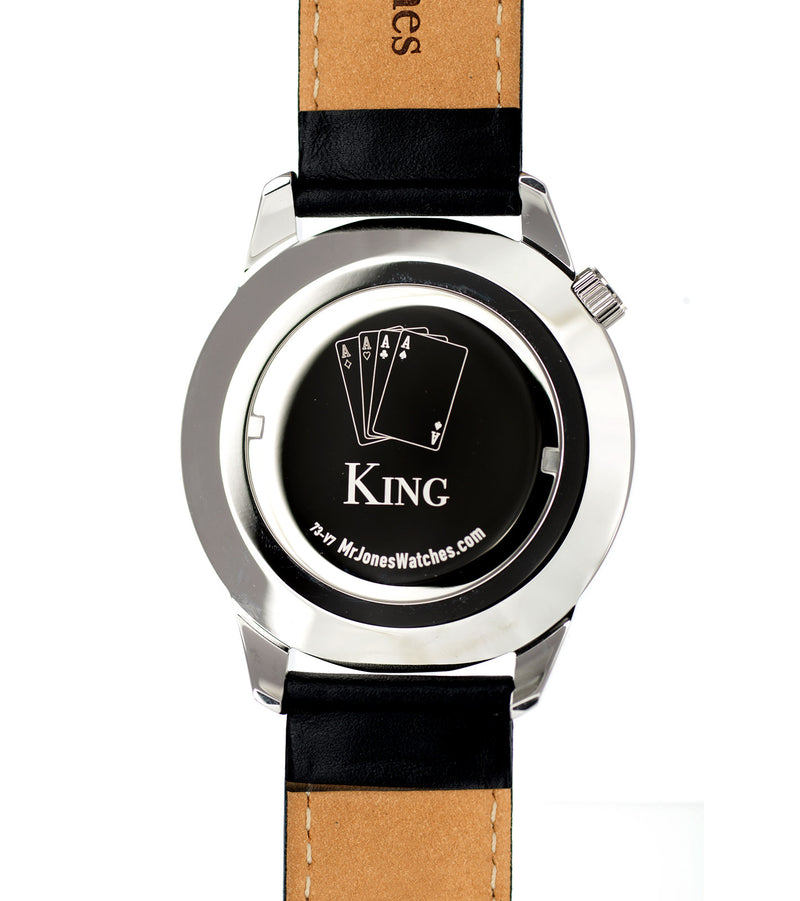 The King XL watch case back