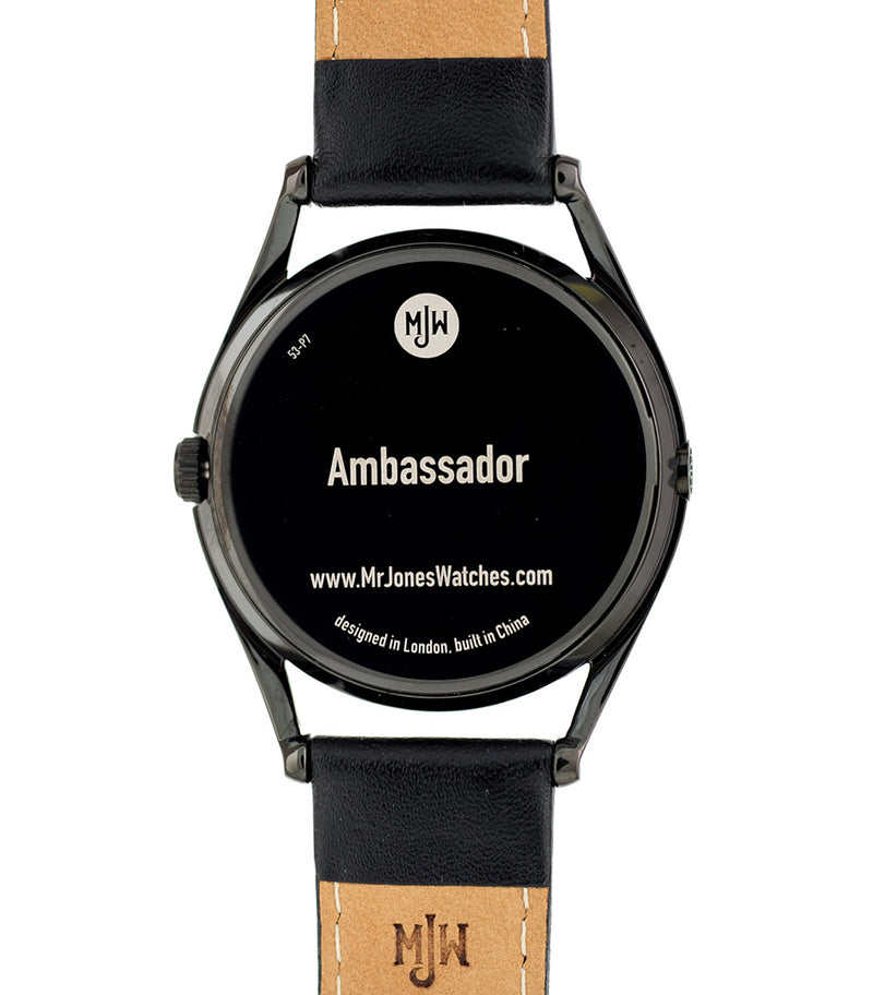 Ambassador watch caseback