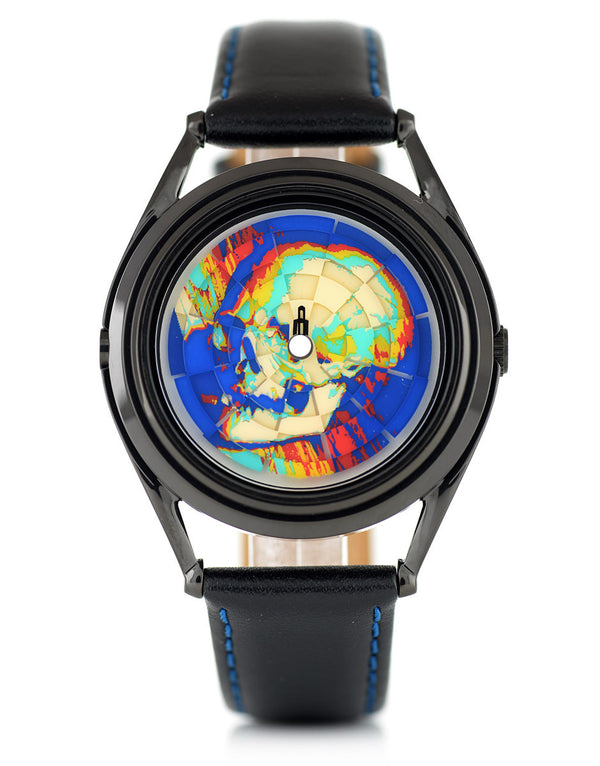 Ambassador unisex colourful skull watch by Mr Jones Watches