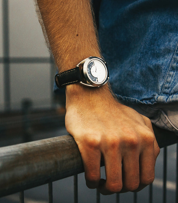 Sun and Moon watch on models wrist