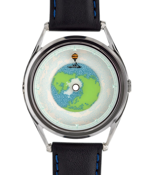 Tour Du Monde watch showing the time at 12