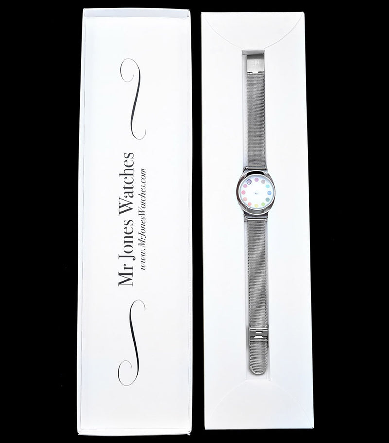 Cyclops ladies watch, in Mr Jones Watches packaging.