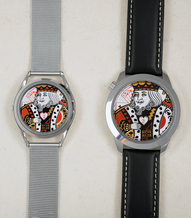 King watch unisex (left) and XL (right)