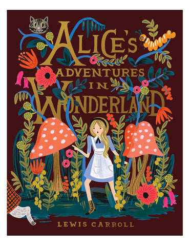 Alice in wonderland, hardback book, gifts for children