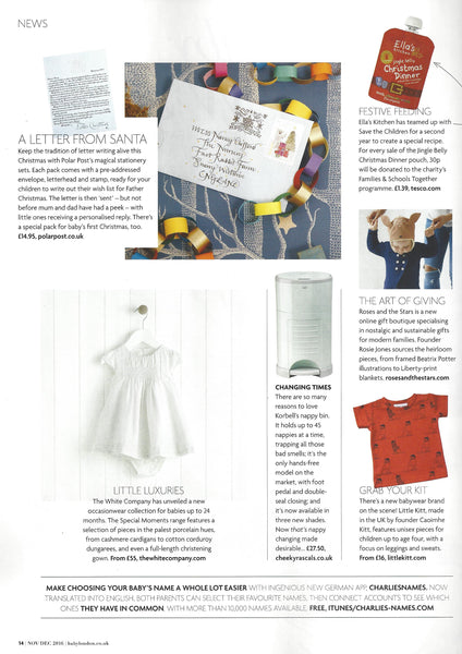 Roses and the Stars press coverage, Baby London Magazine