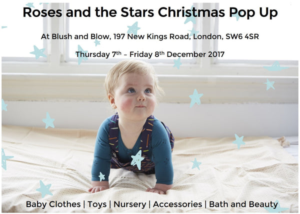 Roses and the Stars Pop Up Shop at Blush and Blow
