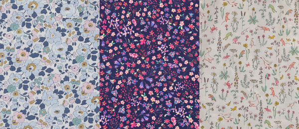 Girls Liberty Print Fabrics | Roses and the Stars