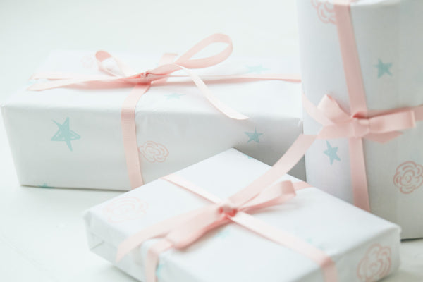 Gift Wrapping at Roses and the Stars