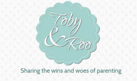 Tobby and Roo Logo | Roses and the Stars Press