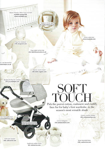 Roses and the Stars in Baby London January Issue