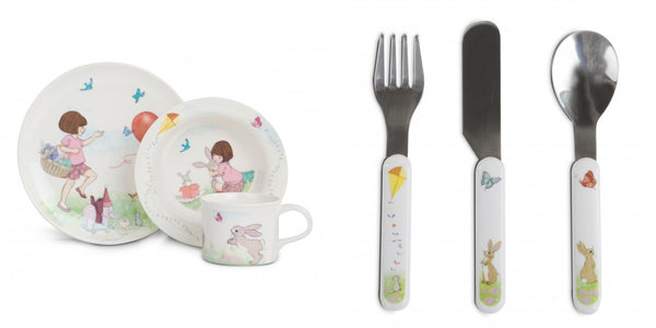 Belle and Boo cutlery set