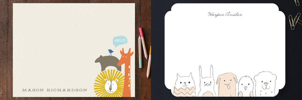 Minted Children's stationary