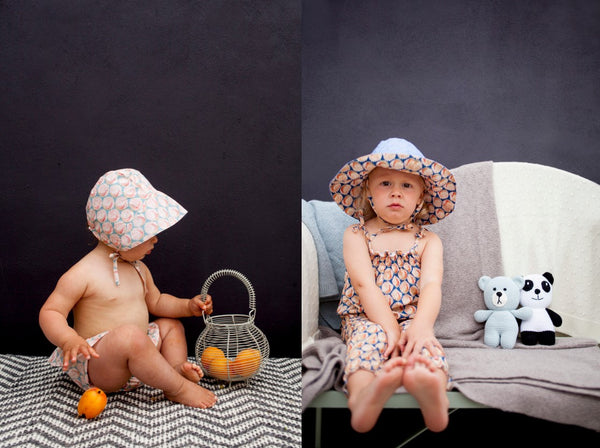 Olivier baby sunhats and sun bonnets
