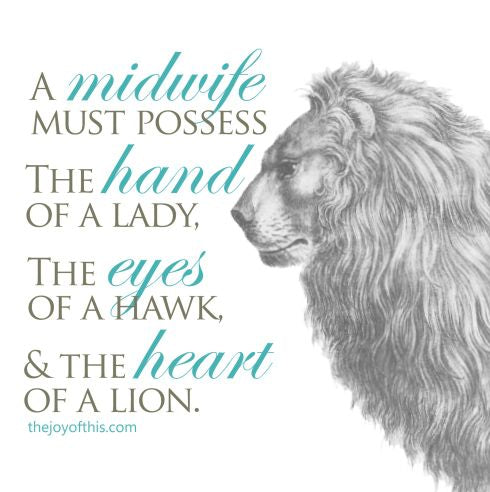 midwife proverb quote