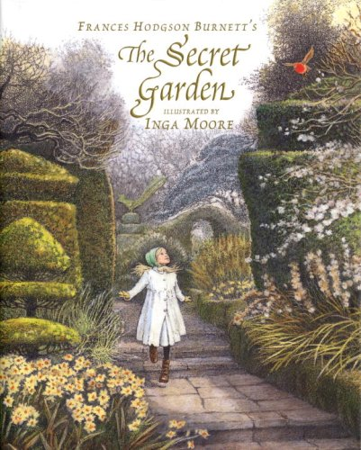 secret-garden - children and reading