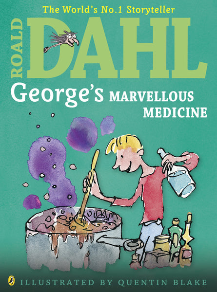 George's Marvellous Medicine - children and reading