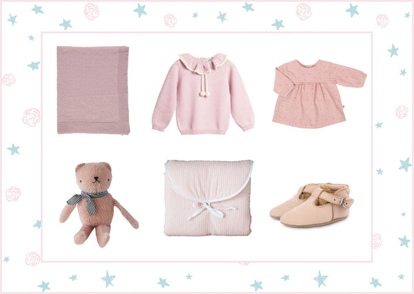 Pretty in pink, gifts for baby girls | Roses and the Stars
