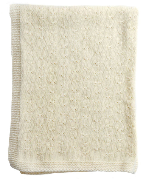 Buy Cream Cashmere Blanket | Roses and the Stars